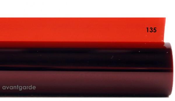 Rosco E-COLOUR 135, Deep Golden Amber, Bogen / Sheet