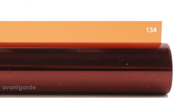 Rosco E-COLOUR 134, Golden Amber, Bogen / Sheet