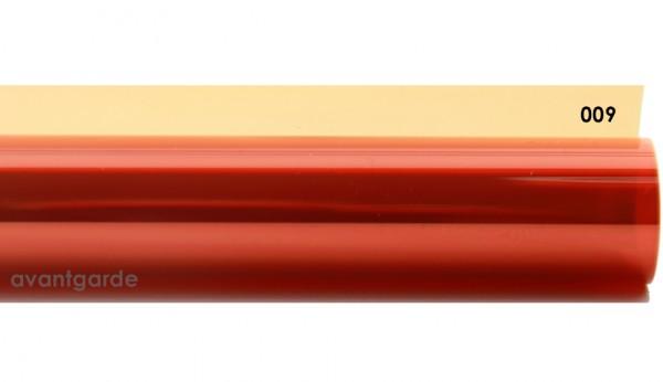 Rosco E-COLOUR 009, Pale Amber Gold, Bogen / Sheet