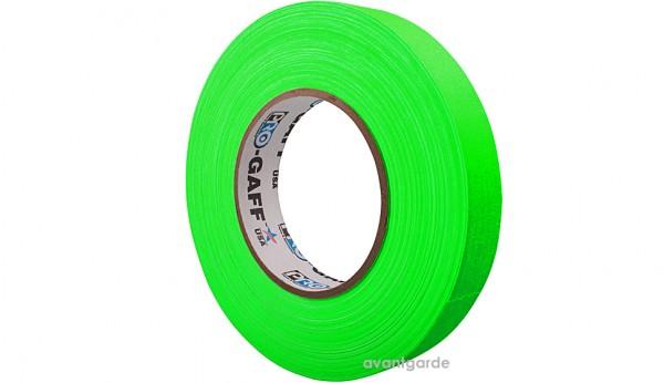 Pro Gaff Neon Tape fluoreszierend, grün 12/45,7