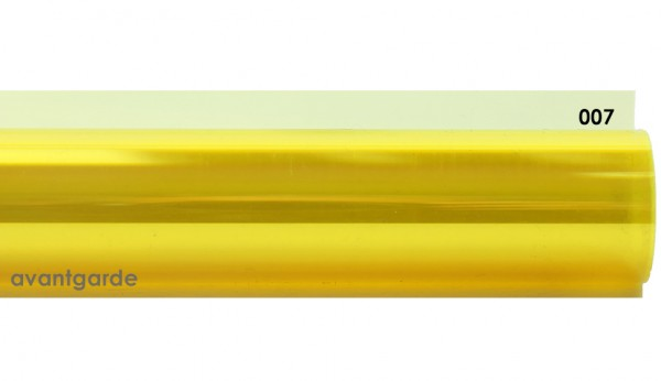 Rosco E-COLOUR 007, Pale Yellow, Bogen / Sheet