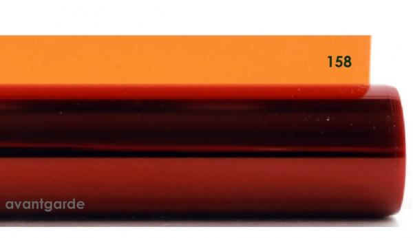 Rosco E-COLOUR 158, Deep Orange
