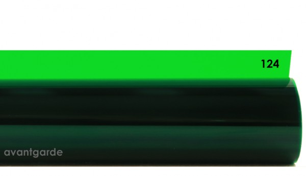 Rosco E-COLOUR 124, Dark Green, Bogen / Sheet