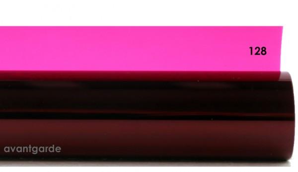 Rosco E-COLOUR 128, Bright Pink, Rolle 7,62m x 1,22m