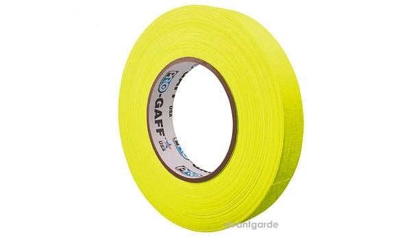 Pro Gaff Neon Tape fluoreszierend, gelb 12/45,7