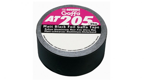 AT 205 Black Tac schwarz, Alutape, 50x25