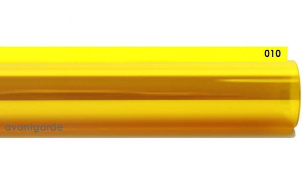Rosco E-COLOUR 010, Medium Yellow, Rolle 7,62m x 1,22m