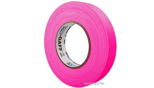 Pro Gaff Neon Tape fluoreszierend, pink 12/45,7